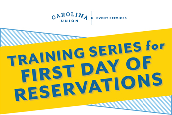 First Day of Reservations training series