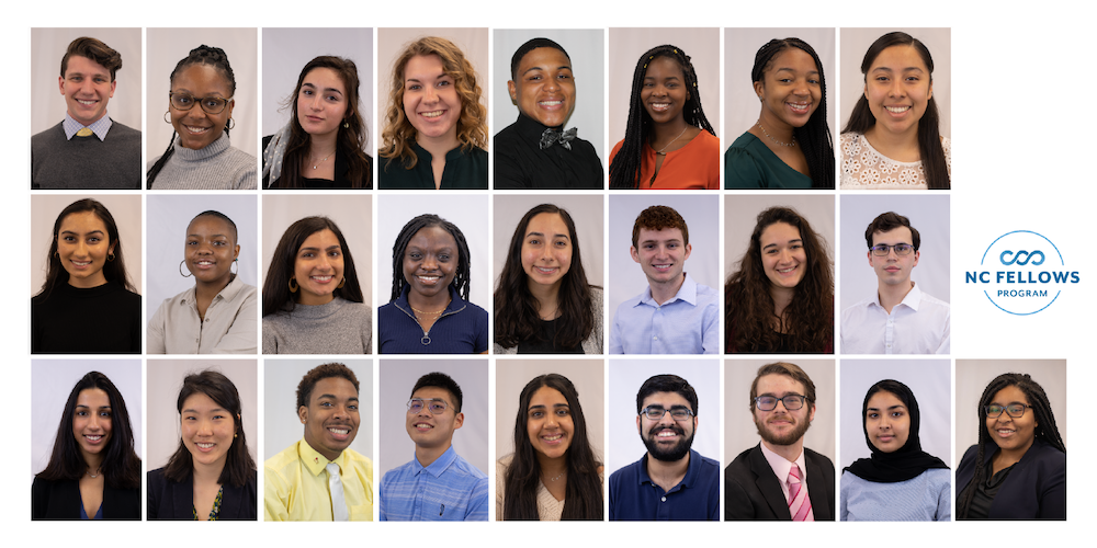 Portraits of 25 NC Fellows