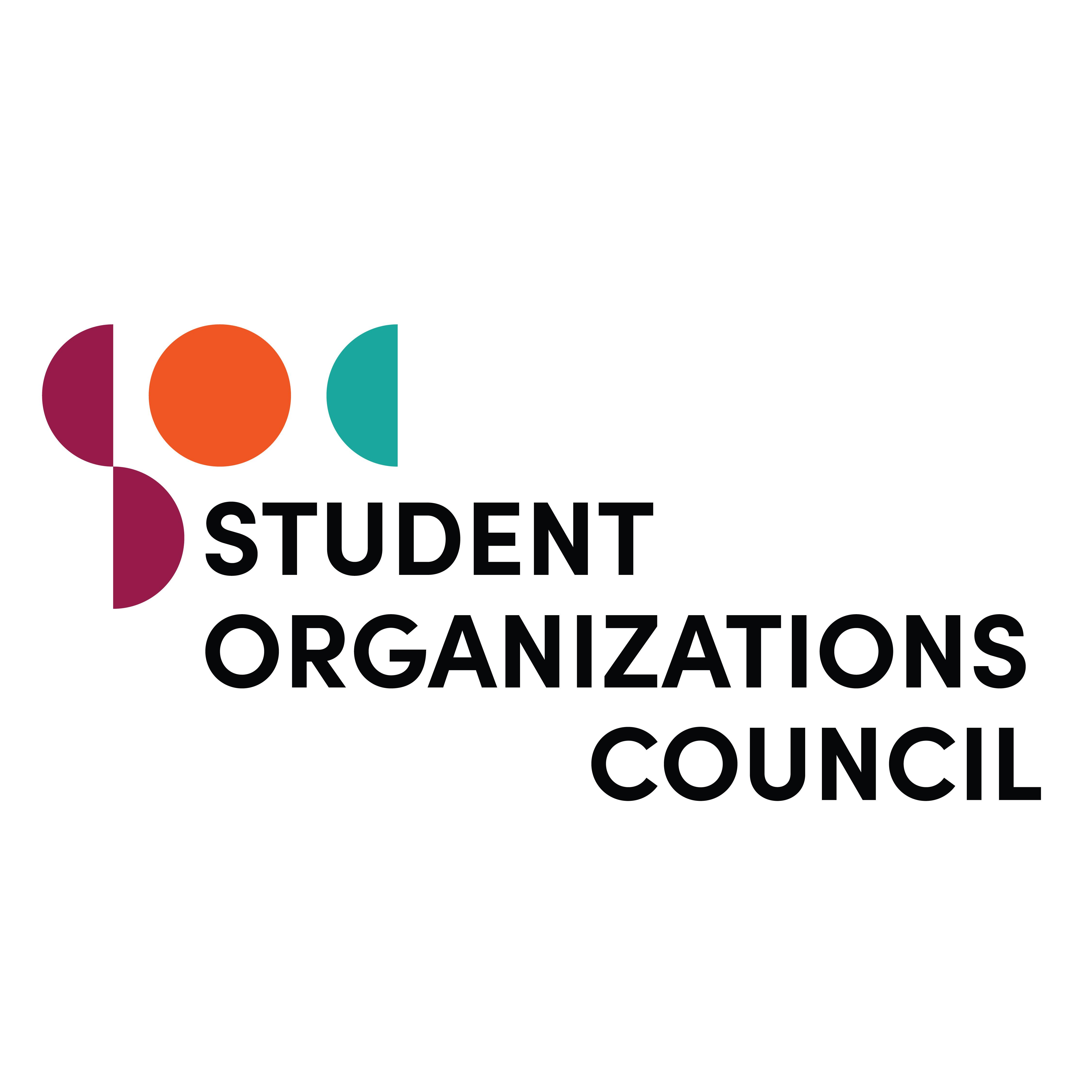 Logo for UNC's Student Organizations Council