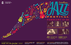 Image of a Jazz festival poster