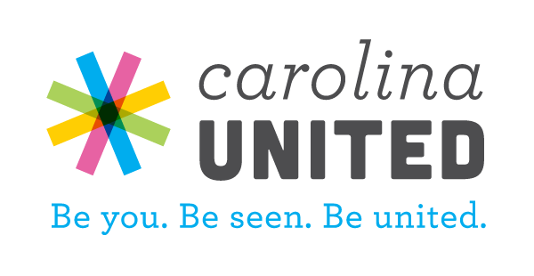 Carolina United - be you, be seen, be united;