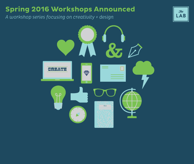 The Lab Spring 2016 Workshops Announced