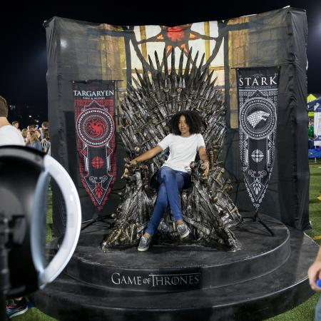 Game of Thrones Throne at FallFest