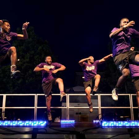 Student Mainstage Performance at FallFest