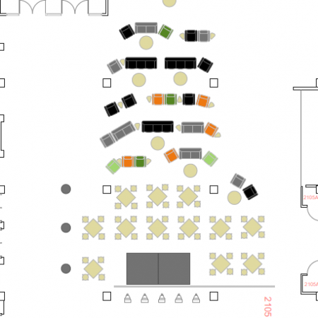 West Lounge Layout